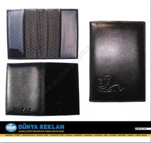 Deri Pasaport Kabı
